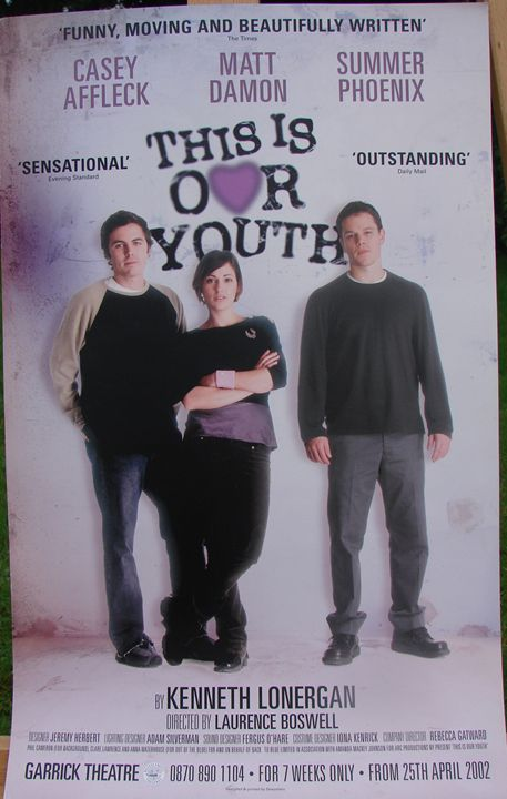 'This is Our Youth' Theatre Poster - Redbusart