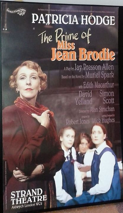 The Prime of Miss Jean Brodie Poster - Redbusart