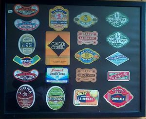 Bottle Labels Of The Early 20th Cent