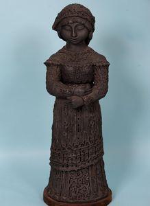 Terracotta Statuette -Cornish Artist