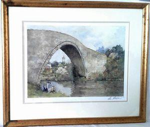 Brigadoon Bridge in Ayr Scotland