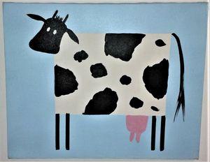Children's Nursery Style of Cow