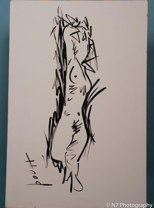 Abstract Nude - Redbusart