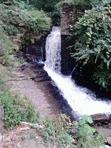 waterfall mill