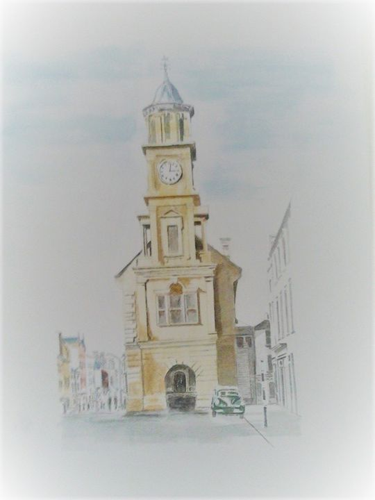 Strabane Old Townhall - Sean''s Irish Art