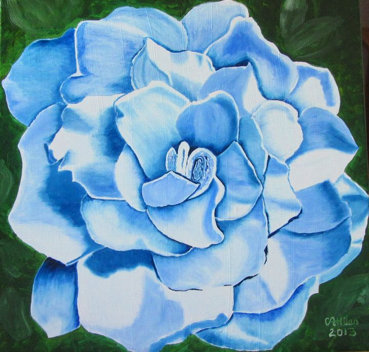 Blue Gardenia - Chris Hiles