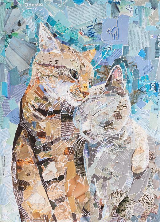 love cats - yarovaya.art