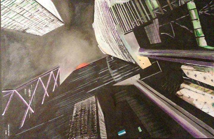 Hong Kong's Building at Night - Michael Liu