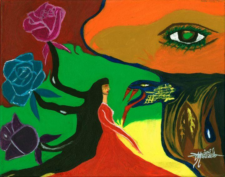 Face my fears - Mariecialo Art