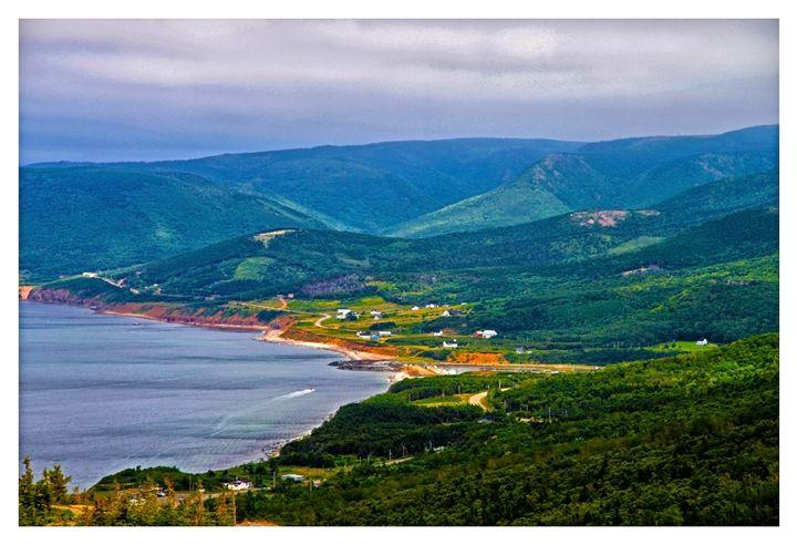 Overlooking Pleasant Cove - Jonathan Baldock