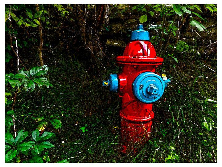 Lonely Firehydrant - Jonathan Baldock