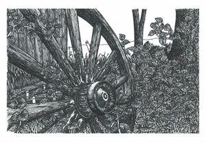 Old Wagon Wheel - Jonathan Baldock
