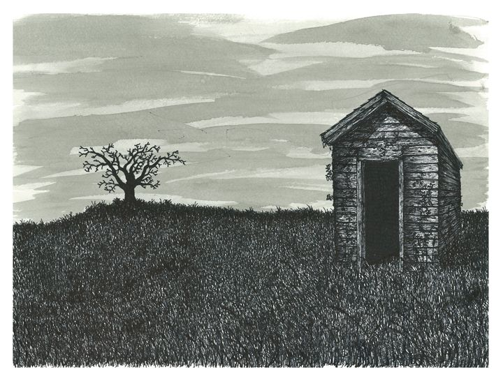 Lonely Outhouse - Jonathan Baldock