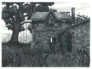 Burnt out Farmhouse - Jonathan Baldock