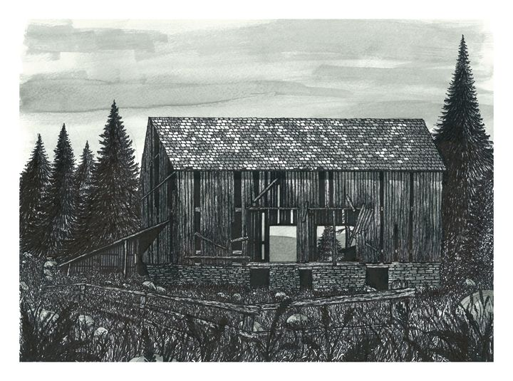 Old Wilderness Barn - Jonathan Baldock