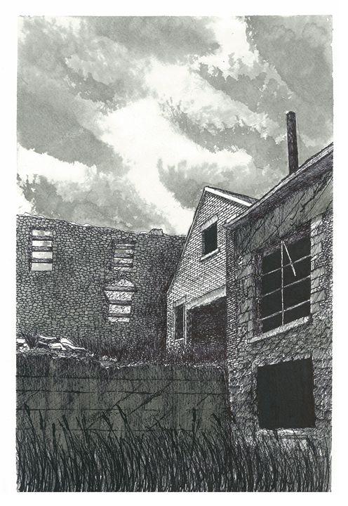 Abandoned Barber Paper Mill Factory - Jonathan Baldock