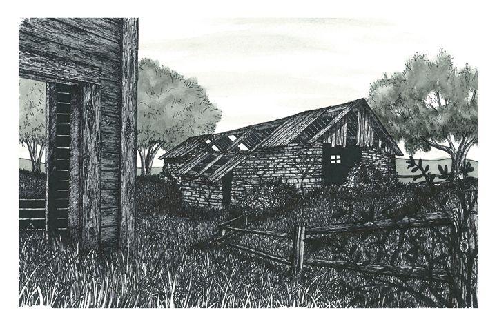 Old Abandoned Farm - Jonathan Baldock