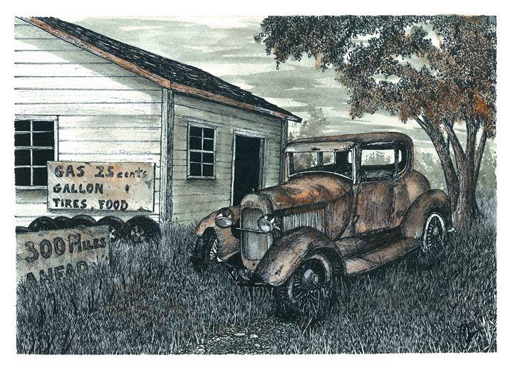 Out of Gas - Jonathan Baldock