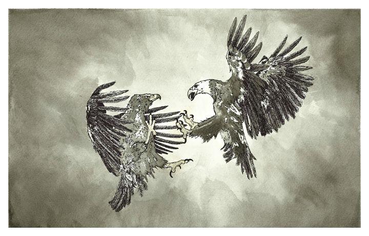 Clash of the Titans - Jonathan Baldock