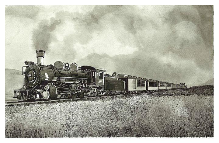 Old Steam Train - Jonathan Baldock
