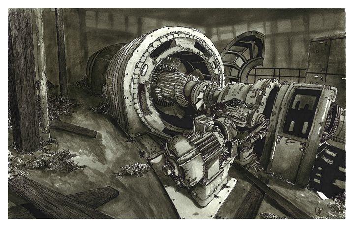 Abandoned Machinery - Jonathan Baldock