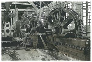 Abandoned Factory Machinery