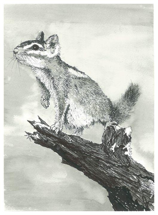 The Chipmunk - Jonathan Baldock