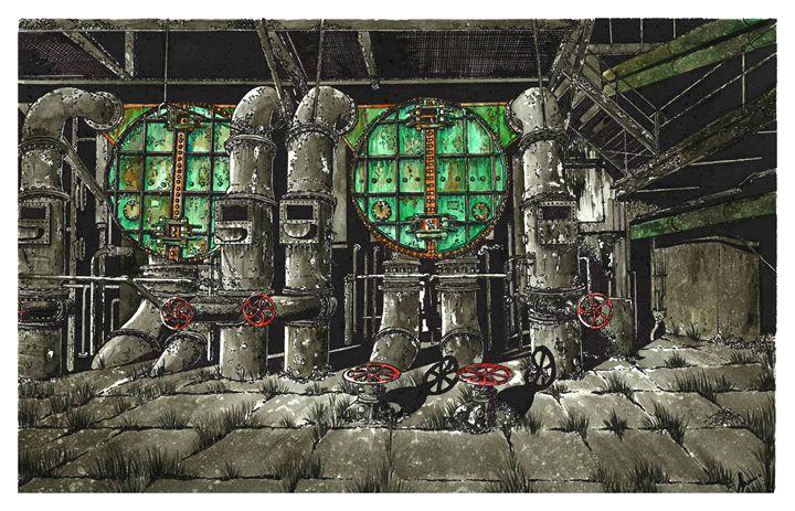 Abandoned Foundry - Jonathan Baldock