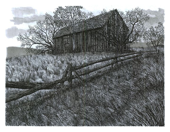 November at the Farm - Jonathan Baldock