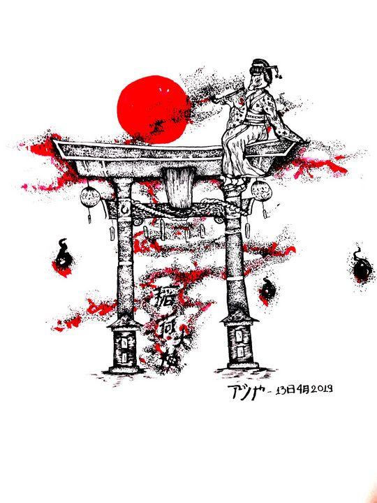 Over the gate - Ashiya Creations (アシヤ)