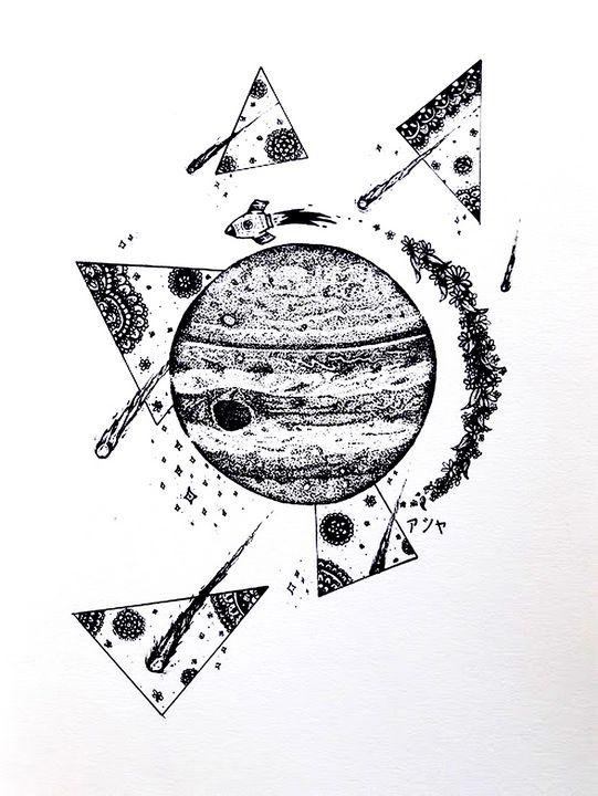 Dreamy space traveler - Ashiya Creations (アシヤ)