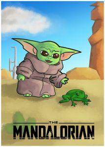 Star Wars The Mandalorian-The Child