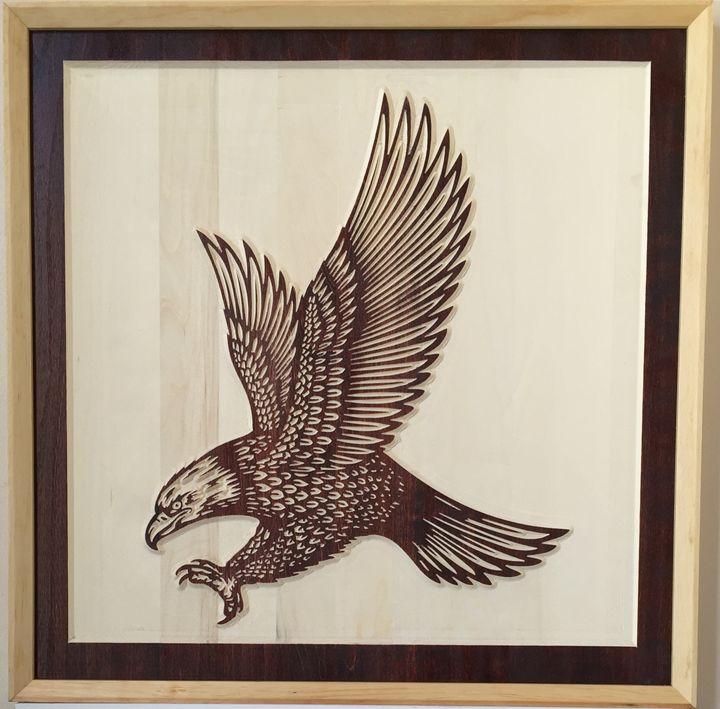 American Symbol of Libery - Maysan Etching