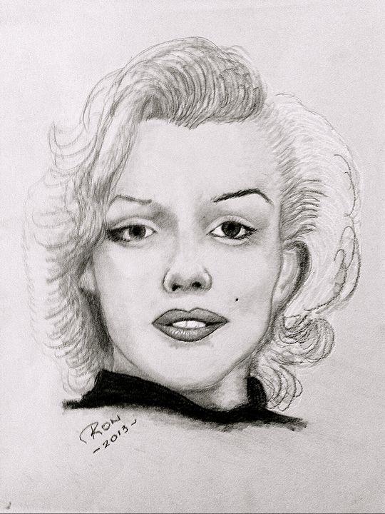 Marilyn Monroe - Drawings