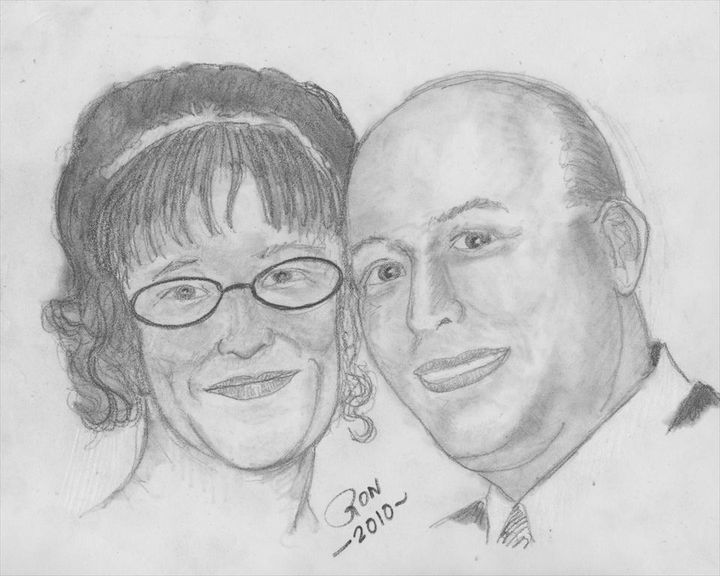 Jazzy and hubby - Drawings