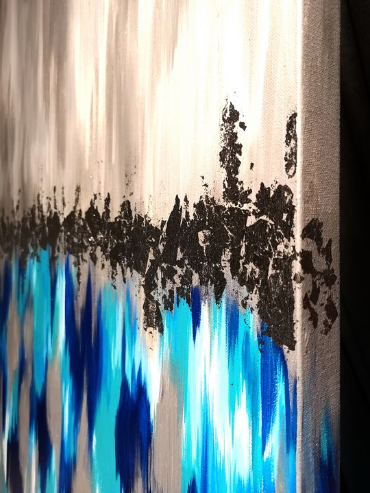 Original Abstract painting - Artcloud