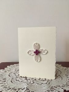 Quilled Cross Blank Easter Card
