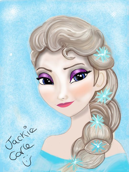 Elsa frozen - Artistically unique.