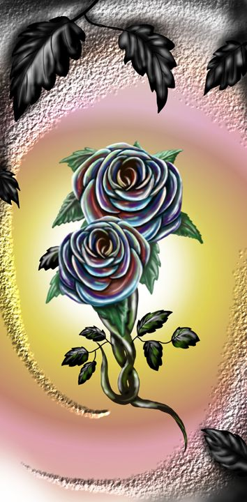 Colorful Roses - Siera Tomczak