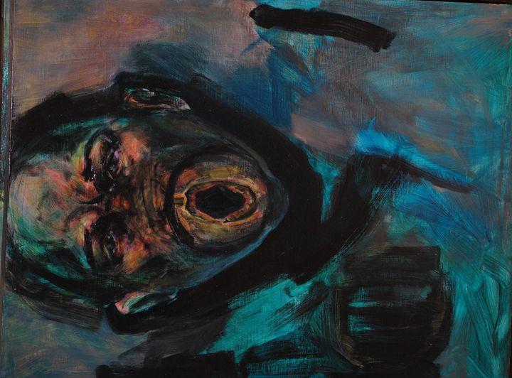 Speak No Evil - K.Levin Lau Paintings for sale
