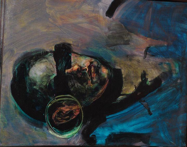 Hear No Evil - K.Levin Lau Paintings for sale