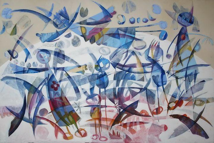 i giocolieri - 100x150 cm - Art book