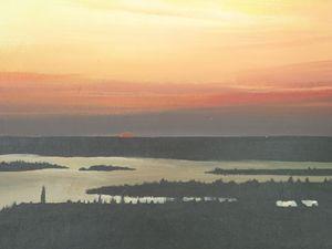 Sunset In North Bay Village