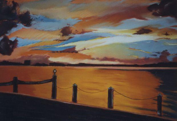 Sunset On Fire - RoyceFineArtSunsets.com