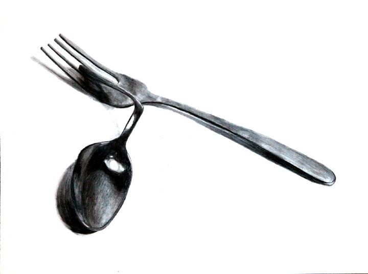 Contrast Fork/Spoon - Audrey Hardison