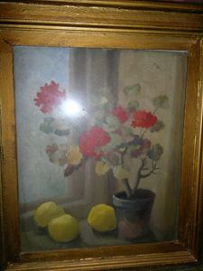 Grigore Spirescu -Flower and quince