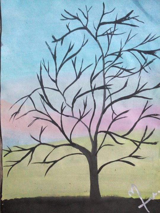 tree - baby art