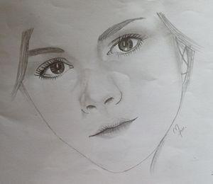 emma watson - baby art