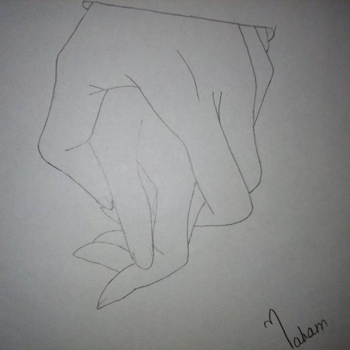 JOIN HANDS - baby art