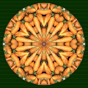 Carrot Kaleidoscope
